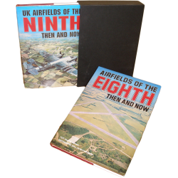 US AIRFIELDS IN BRITAIN - PRESENTATION BOXED SET